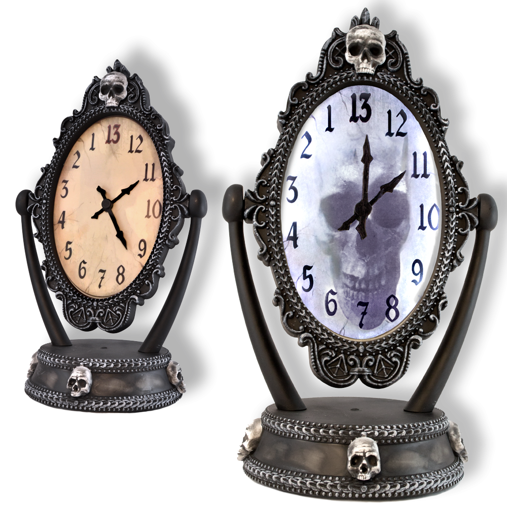 Haunted Reveal Clock