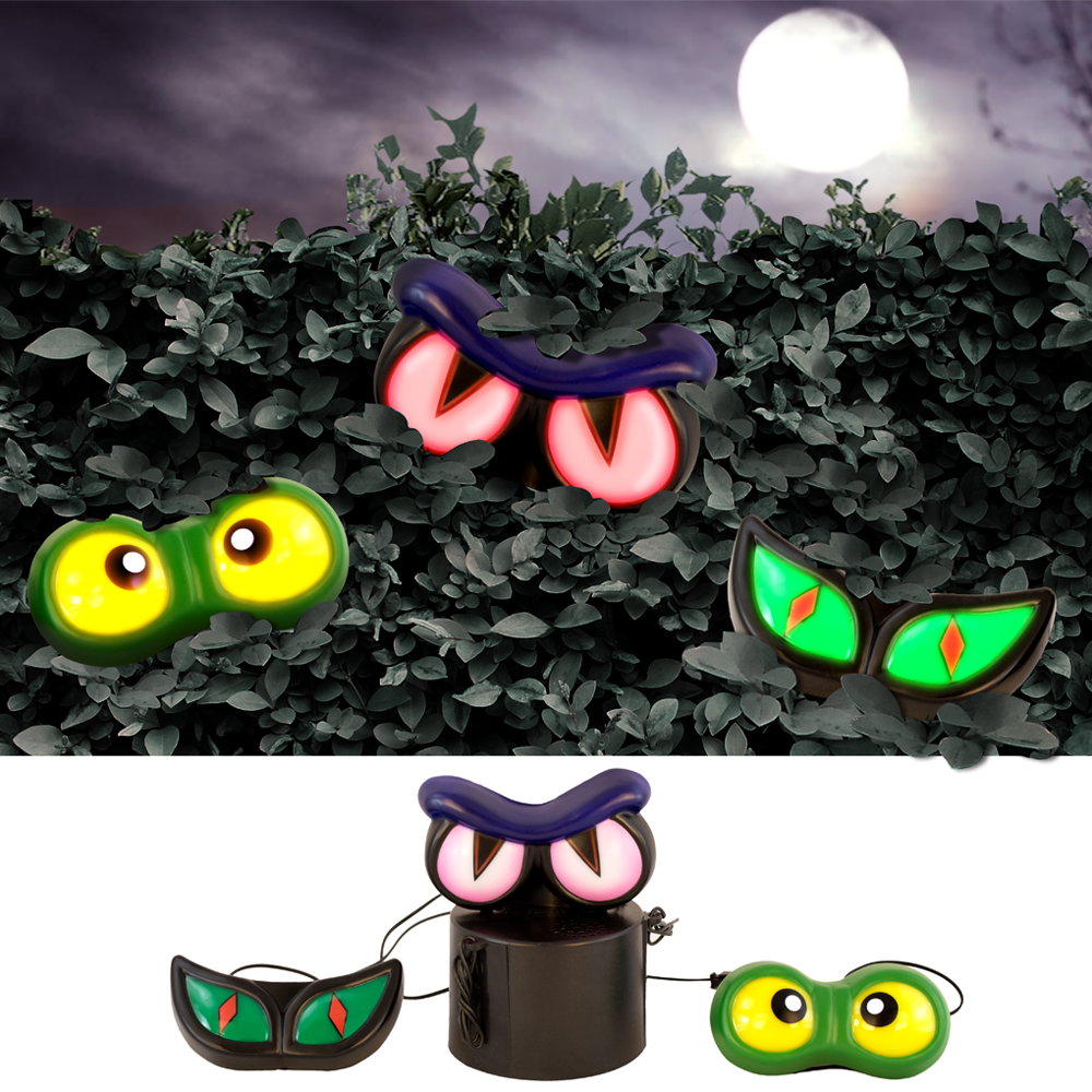 Haunted Hedge 3 sets of Eyes