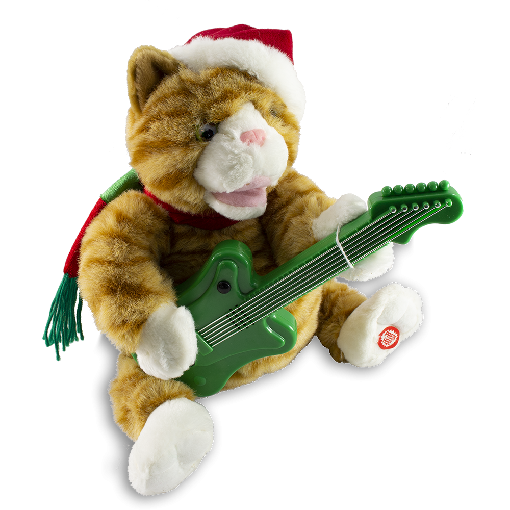 Jingle Cat (with guitar)