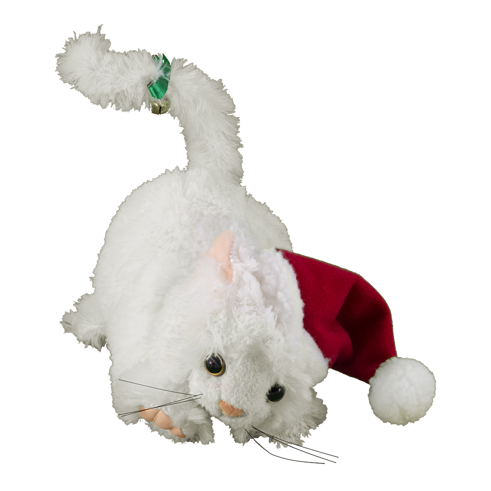 Jingle Cat (white fur)