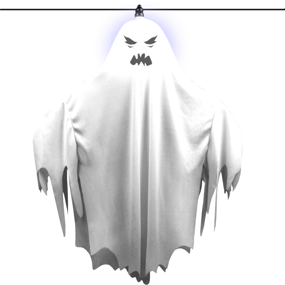 Flying Light Up Ghost