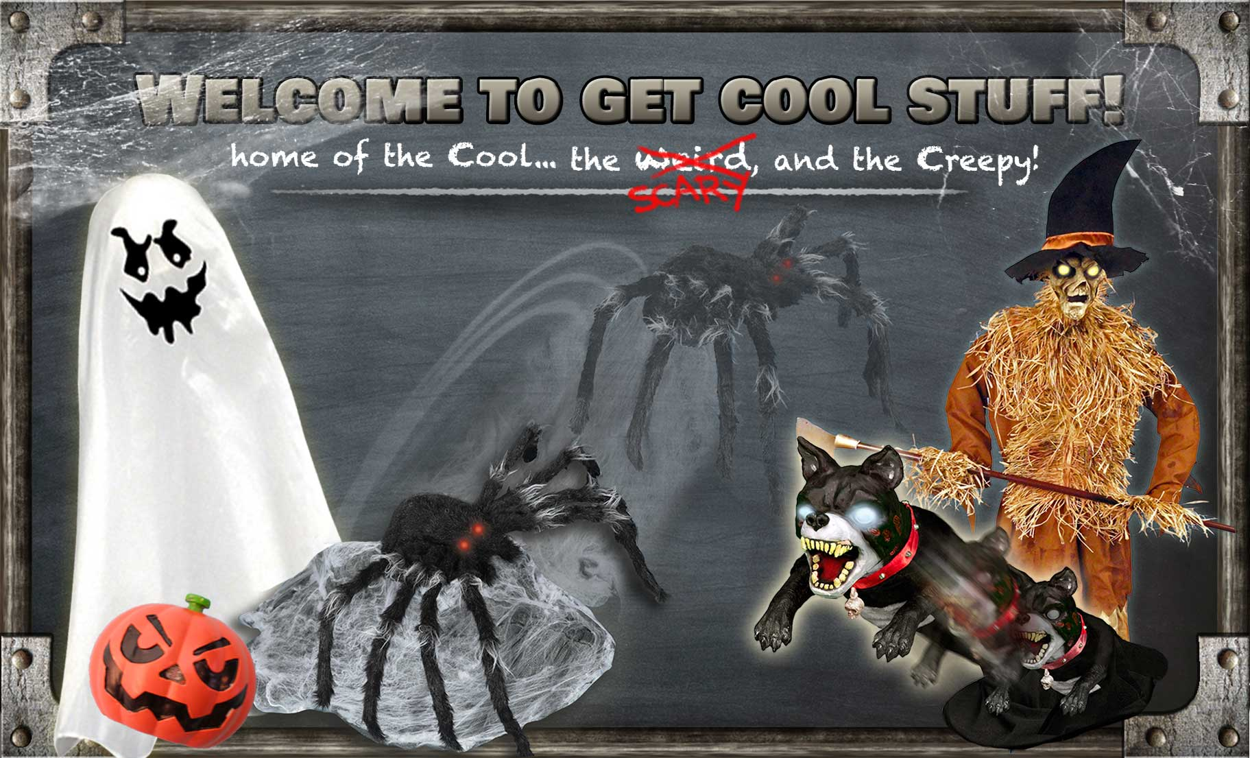 Get Cool Stuff - Home of the cool, the weird, and the creepy!